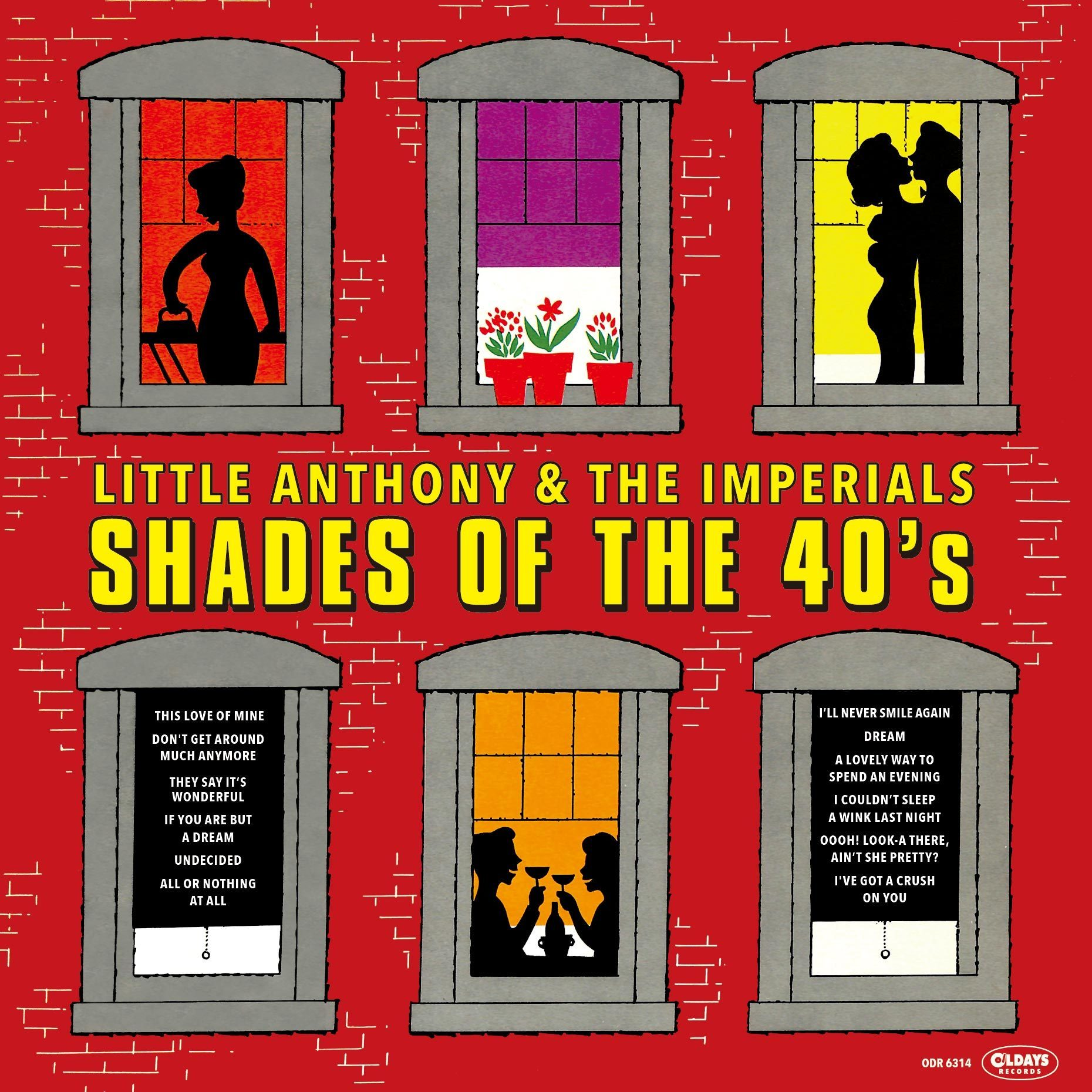 Shades of The 40's - Little Anthony & The Imperials