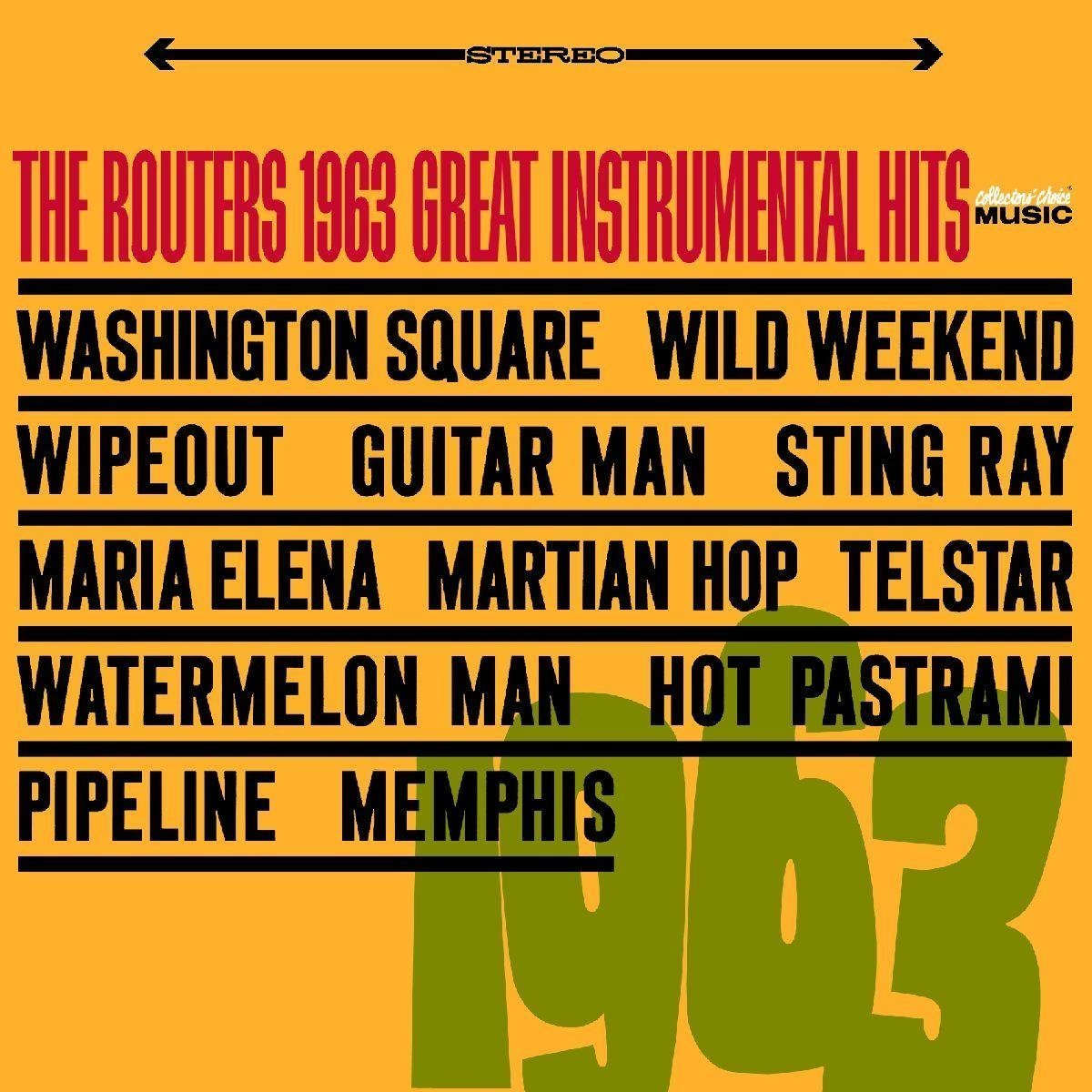 The Routers Play 1963's Great Instrumental Hits ('63)