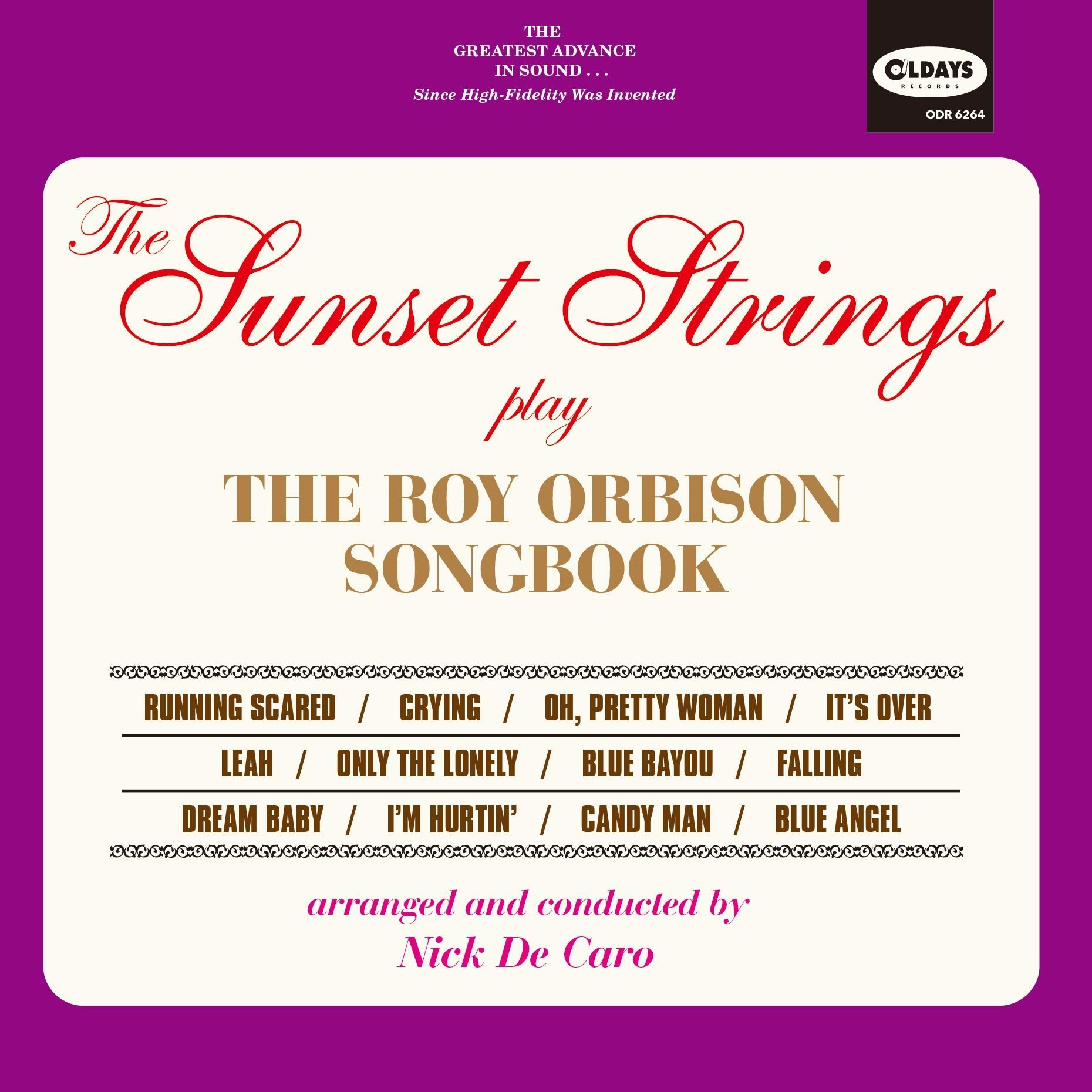 The Sunset Strings play The Roy Orbison Songbook