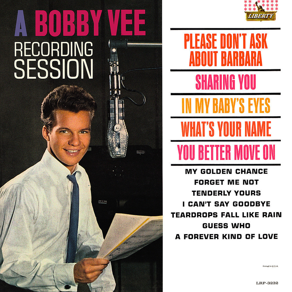A Bobby Vee Recording Session ('62)